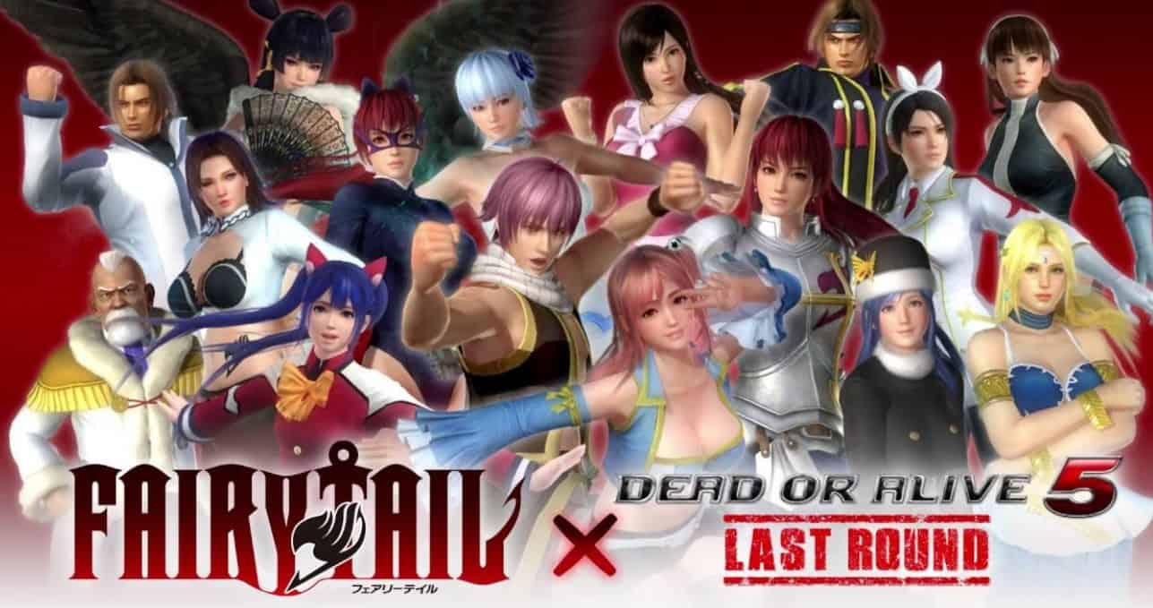Dead or Alive 5 new costume DLC out now